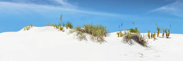 Wall Art - Photograph - White Sands Idyllic Panoramic View  by Melanie Viola