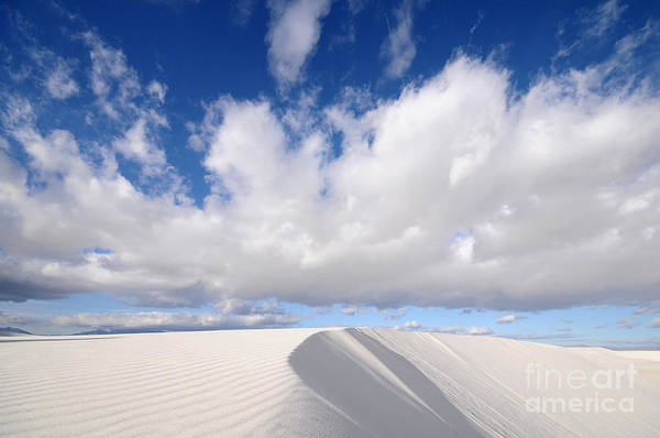 Wall Art - Photograph - White Sands National Monument In New by Kojihirano