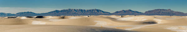 Wall Art - Photograph - White Sands National Monument Panorama by Russell Burden