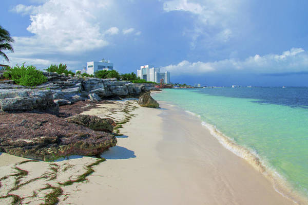 Photograph - White Sandy Beach Of Cancun by Sun Travels