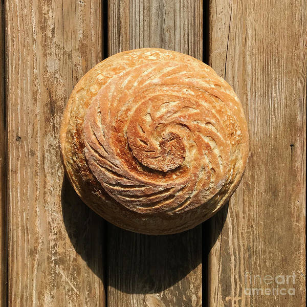 Wall Art - Photograph - White Sourdough Spiral by Amy E Fraser