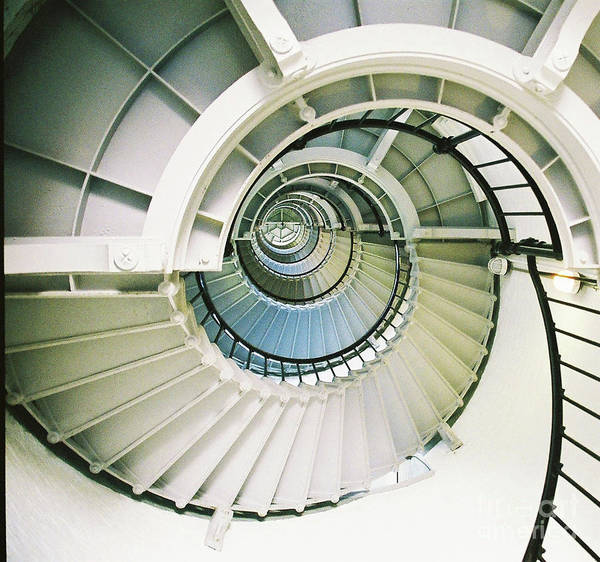 Wall Art - Photograph - White Spiral by Sharon Williams Eng