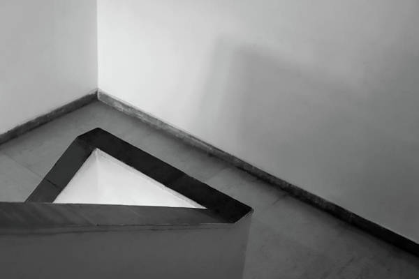 Photograph - White Triangle by Prakash Ghai