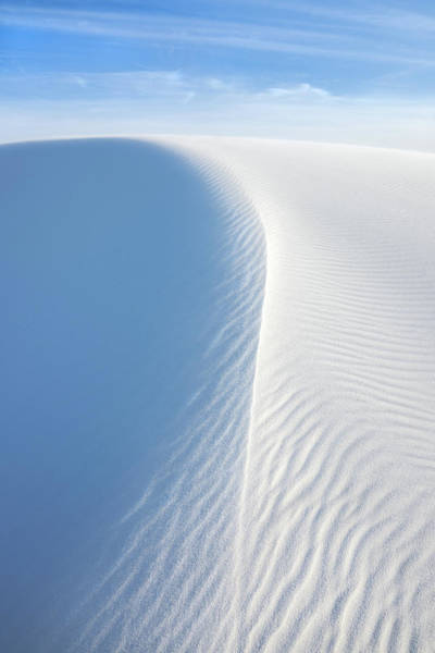 Wall Art - Photograph - White Wave, White Sands National Monument by Francesco Emanuele Carucci