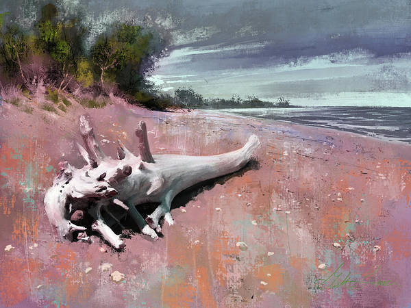 Wall Art - Digital Art - White Whale At Windpoint by Garth Glazier