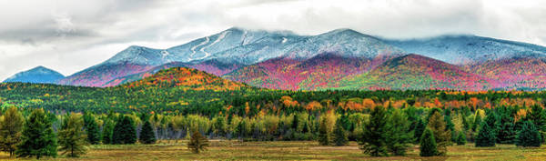Photograph - Whiteface Mountain Panorama by Mark Papke