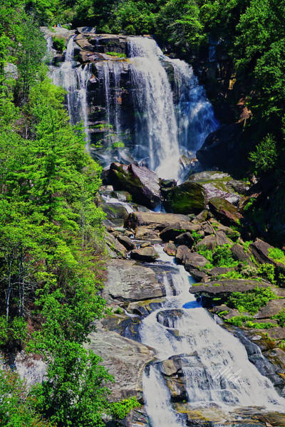 Photograph - Whitewater Falls Top by Meta Gatschenberger