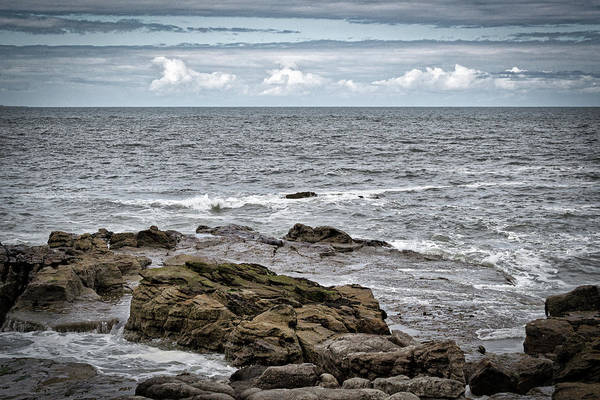 Photograph - Whitley Bay Rough North Sea by Scott Lyons