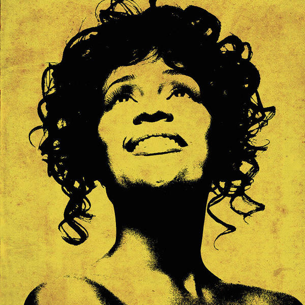 Photograph - Whitney Houston 1 by Andrew Fare