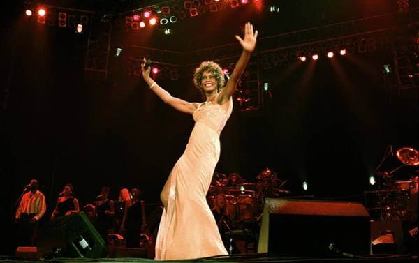 Photograph - Whitney Houston Performing At Paris by Alain Benainous