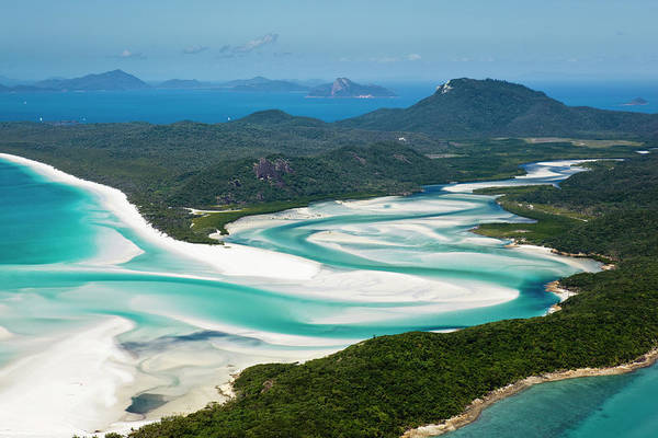 Awe Photograph - Whitsunday Island by Andrew Watson