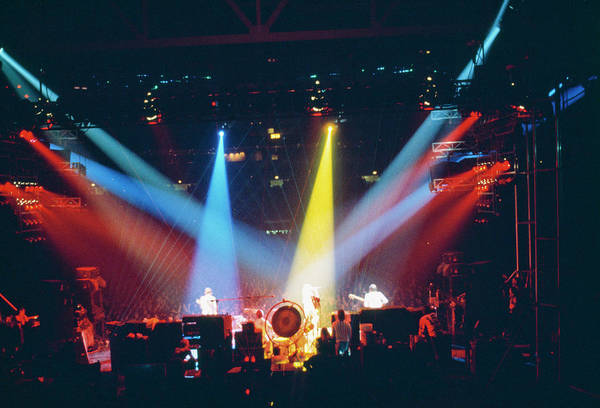 Popular Culture Photograph - Who Concert Stage by Steve Morley