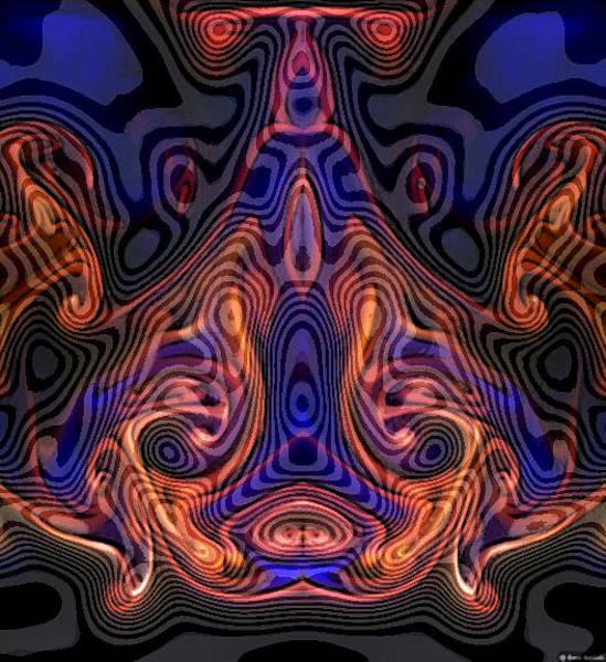 Digital Art - Who Do Man by Rein Nomm