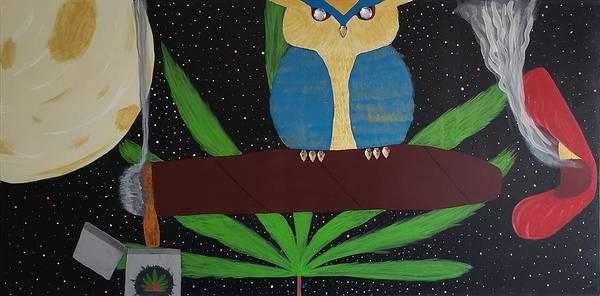 Creative Painting - Who Want The Smoke  by Faith Ardynblu Jackson