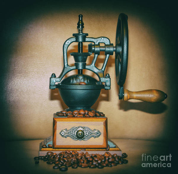 Photograph - Whole Bean Grinder by Dale Powell