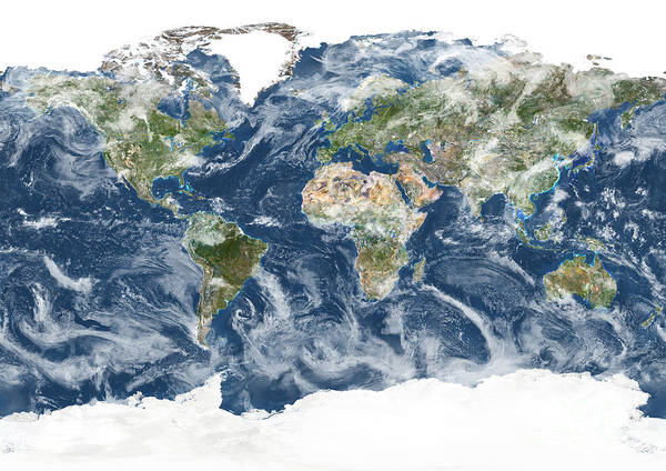 Photograph - Whole Earth by Planet Observor