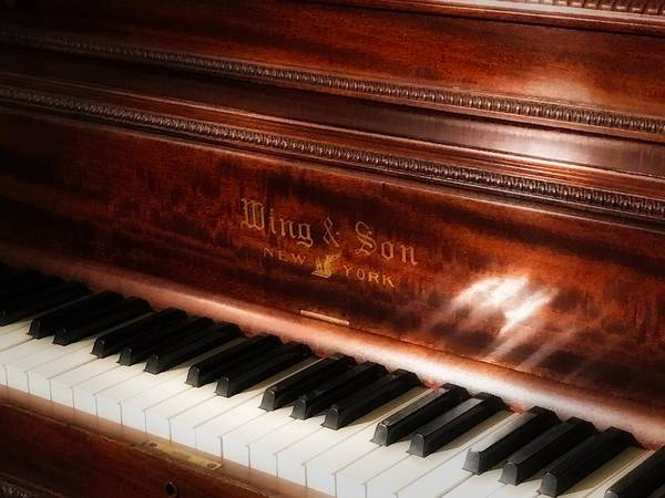 Photograph - Who's Gonna Play That Old Piano? by Jack Wilson