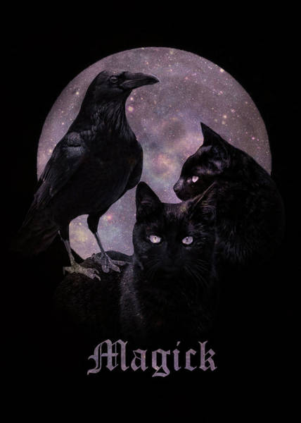 Wicca Photograph - Wicca Lunar Magick by Stephanie Laird