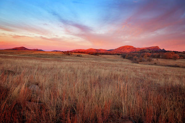 Wall Art - Photograph - Wichita Wildlife Refuge by Ricky Barnard