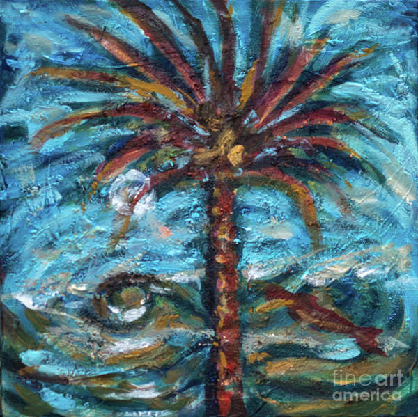 Painting - Wicked Palm by Linda Olsen