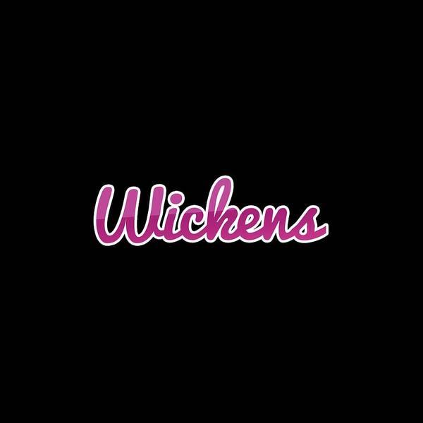 Wall Art - Digital Art - Wickens #wickens by Tinto Designs