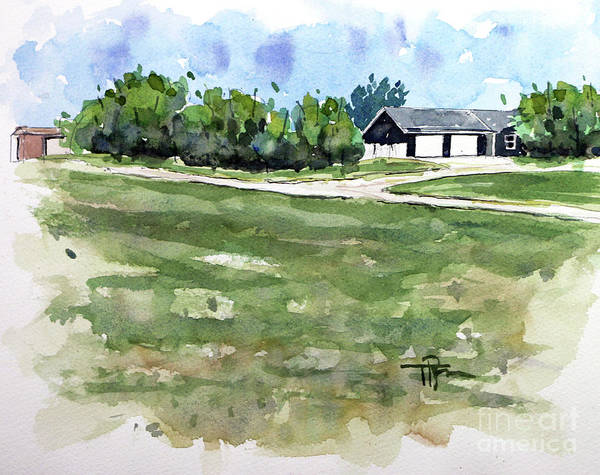 Wall Art - Painting - Wise Acres Ranch by Tim Ross