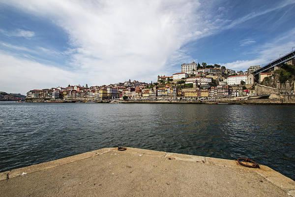 Douro Wall Art - Photograph - Wide-angle View Of Douro River And Porto by Sergio Viana