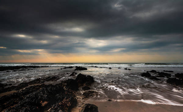Widemouth Bay, Cornwall. Art Print
