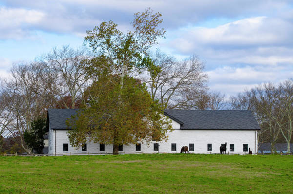 Wall Art - Photograph - Widener Farm At Whitemarsh Pennsylv Ania by Bill Cannon