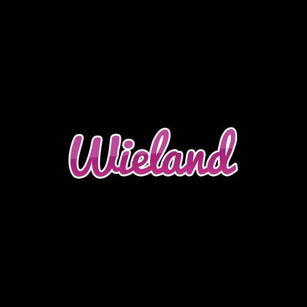 Wall Art - Digital Art - Wieland #wieland by TintoDesigns