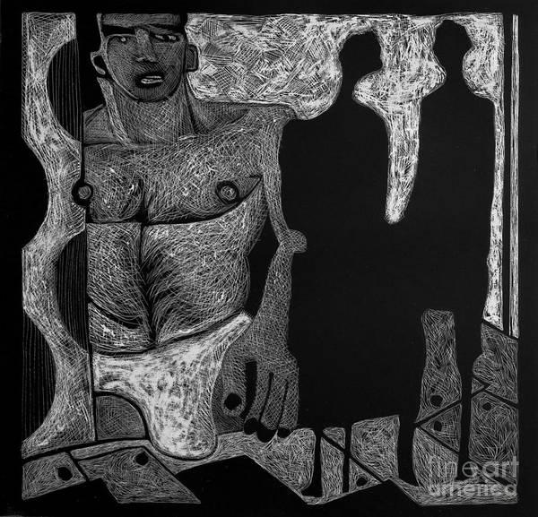 Viewing Madawask. Art Print