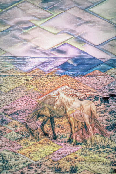 Digital Art - Wild And Free by Mike Braun