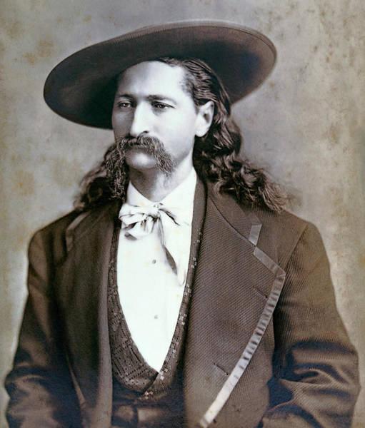 Gunslinger Photograph - Wild Bill Hickok  1873 by Daniel Hagerman