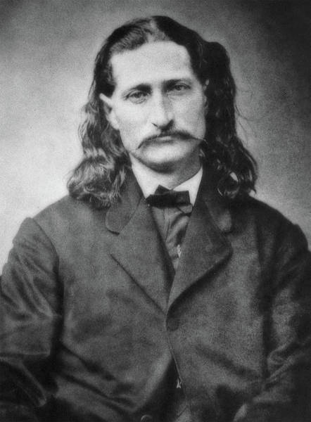 Wild Bill Hickock Photograph - Wild Bill Hickok - American Gunslinger Legend  by Mike Gibbs
