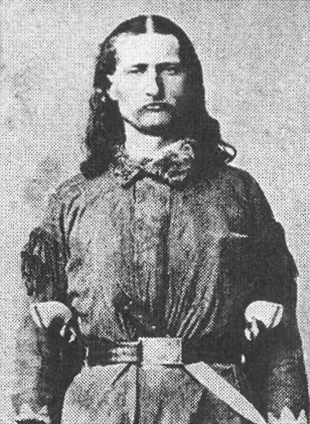 Wild Bill Hickock Photograph - Wild Bill Hickok Prince Of  Pistoleers In Full Battle Regalia by Daniel Hagerman