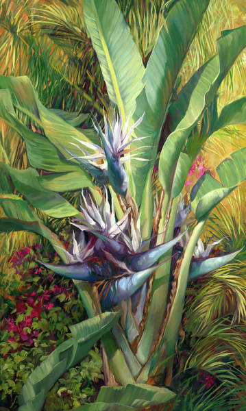 Bird Of Paradise Painting - Wild Bird by Laurie Snow Hein