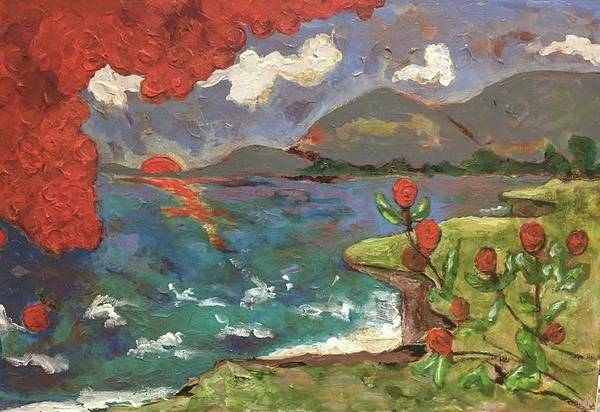 Painting - Wild Coast by Dilip Sheth