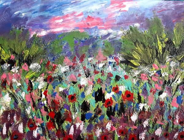 Painting - Wild Flowers by Nikki Dalton