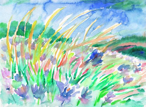 Painting - Wild Herbs by Irina Dobrotsvet
