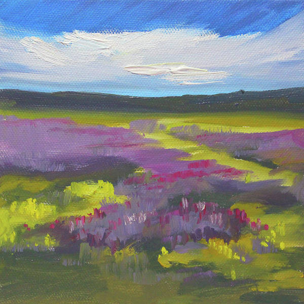 Painting - Wild Lavender by Nancy Merkle