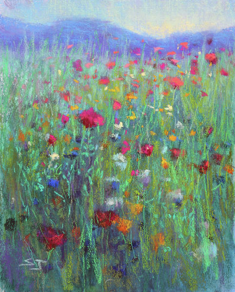 Painting - Wild Meadow by Susan Jenkins