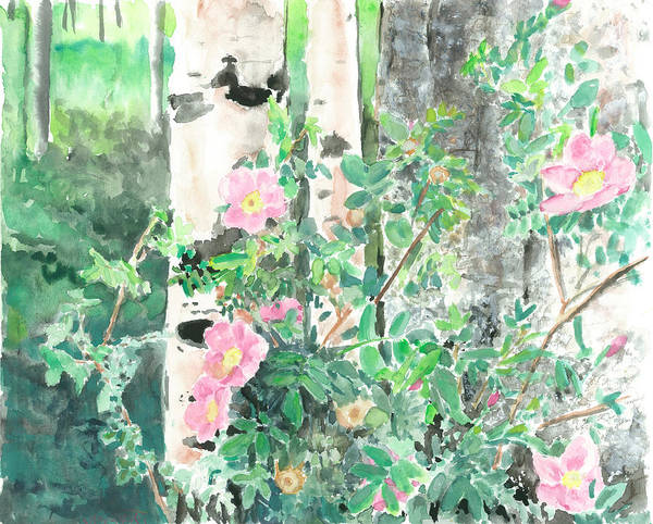 Painting - Wild Rose by Jeremy Robinson