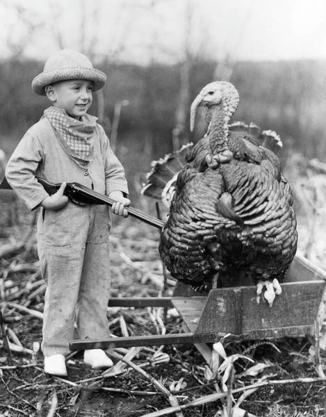 Threat Photograph - Wild Turkey by Archive Photos