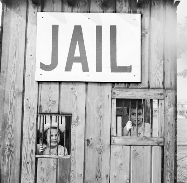 Punishment Wall Art - Photograph - Wild West Jail by Jacobsen
