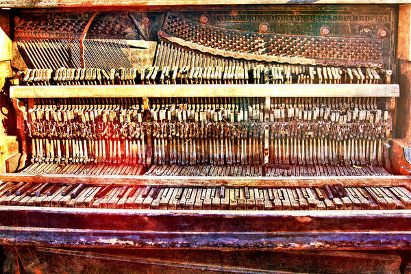 Photograph - Wild West Piano Relic by Tatiana Travelways
