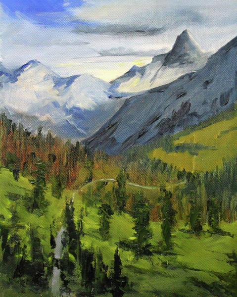Wall Art - Painting - Wilderness Adventure by Nancy Merkle