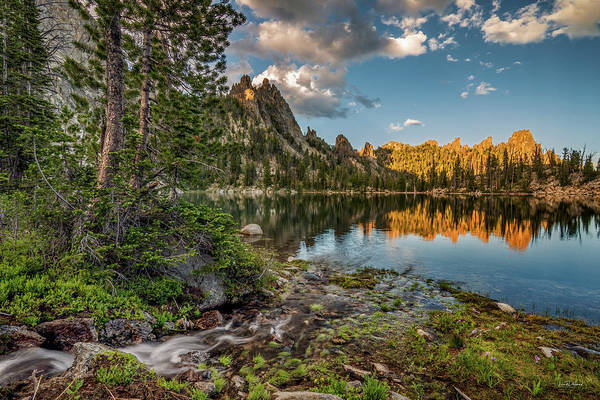 Photograph - Wilderness Lake by Leland D Howard