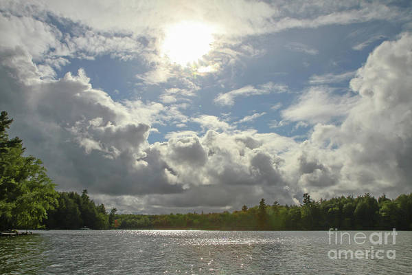 Photograph - Wilderness Lake With Dramatic Sky by Kevin McCarthy
