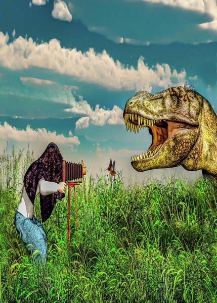 Weird Digital Art - Wildlife Photographer  by Bob Orsillo