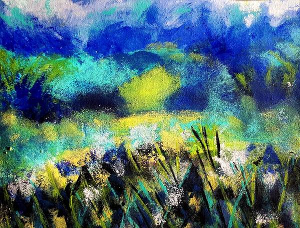 Painting - Wildower  Queen Anne's Lace by Nikki Dalton